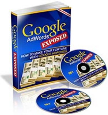 Product picture Google AdWords Exposed eBook & Audio with PLR