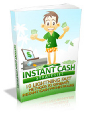 Product picture Instant Cash Strategies eBook with PLR